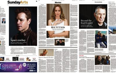 Ascendants Anthology in the Boston Globe